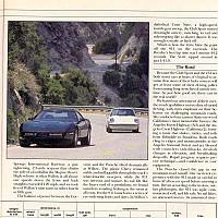 1988 Z51 vs. Porsche 911 Club Sport; Car and Driver, September 1988 by Administrator