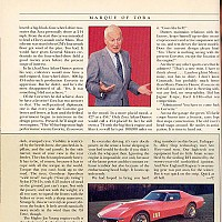 The Mark of Zora; Car and Driver, June 1989 by Administrator