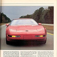 1991 ZR1 vs. Porsche 911 Turbo; Car and Driver, April 1991 by Administrator