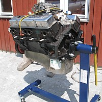 Motor før renovering by Graves