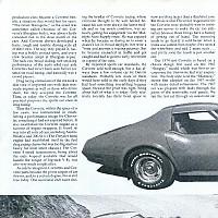 Corvette L-82; Road Test Magazine, February 1974 by Administrator