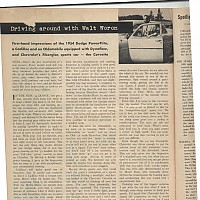 Corvette Review; Motor Trend, November 1953 by Administrator