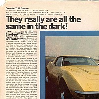 1970 LT-1 vs. 1970 Z28; Sports Car Graphic, June 1970 by Administrator
