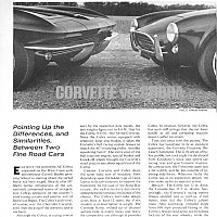 1964 Corvette vs. AC Cobra PART 2; Car Life August 1964 by Administrator