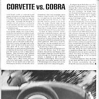 1964 Corvette vs. AC Cobra PART 2; Car Life August 1964 by Administrator