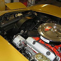 71 corvette engine bay - after by Shark