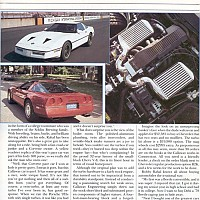 Callaway Twin-Turbo Corvette - Car and Driver 1987 by david