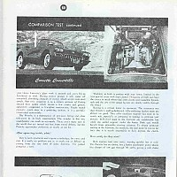 959 Corvette vs. Porsche; Motor Trend, April 1959 by david