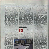Callaway Twin Turbo Corvette; Automobile Magazine, May 1988 by david