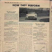 1954 Corvette vs. 1955 Thunderbird; Motor Trend, June 1954 by david