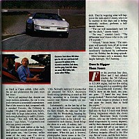 Callaway Twin Turbo Corvette; Automobile Magazine, May 1988 by david