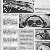 Corvette vs. Kaiser-Darrin; Special Interest Autos by david