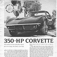 Road and track test af 1968 fra 1968 by david