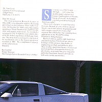 side 2, Callaway Sledgehammer; Road and Track Special, 1988 by david