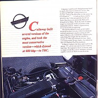side 3, Callaway Sledgehammer; Road and Track Special, 1988 by david