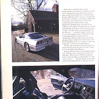 side 6, Callaway Sledgehammer; Road and Track Special, 1988 by david