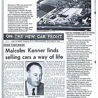 Malcolm Konner by John